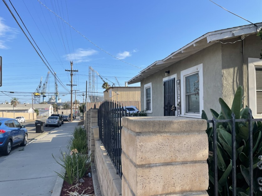Communities like Barrio Logan find residential neighborhoods very close to or mixed in with heavy-industrial businesses.