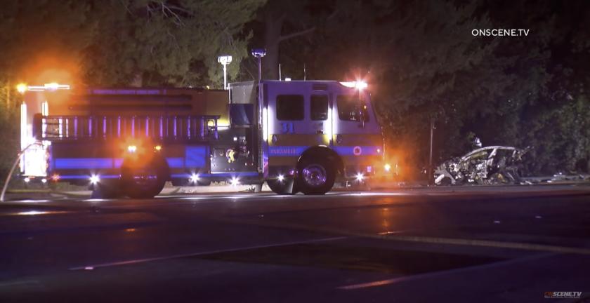 A crash in Thousand Oaks left two dead.