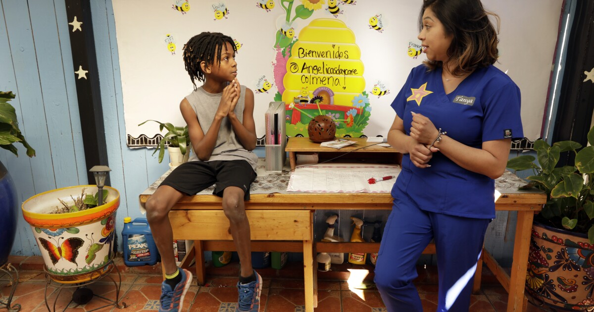 Amid Coronavirus California Childcare Providers Need Help Los Angeles Times