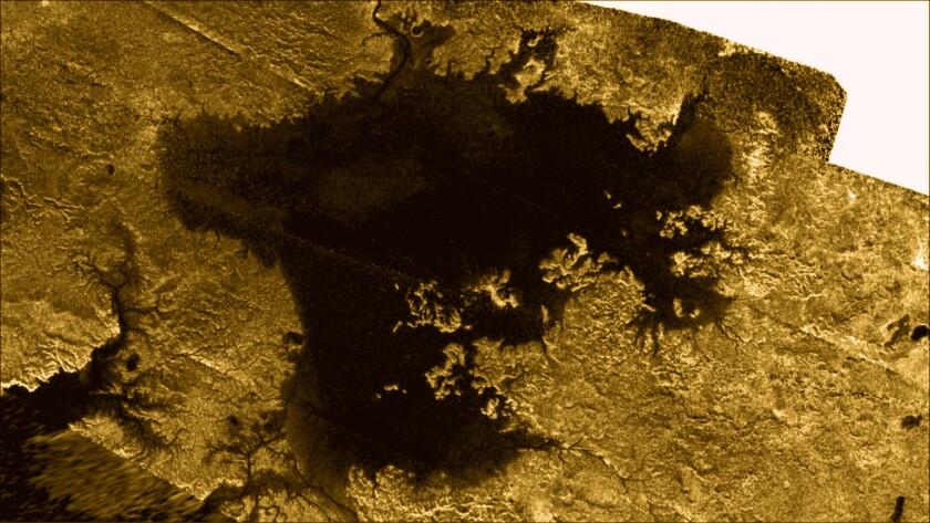 Titan's methane seas