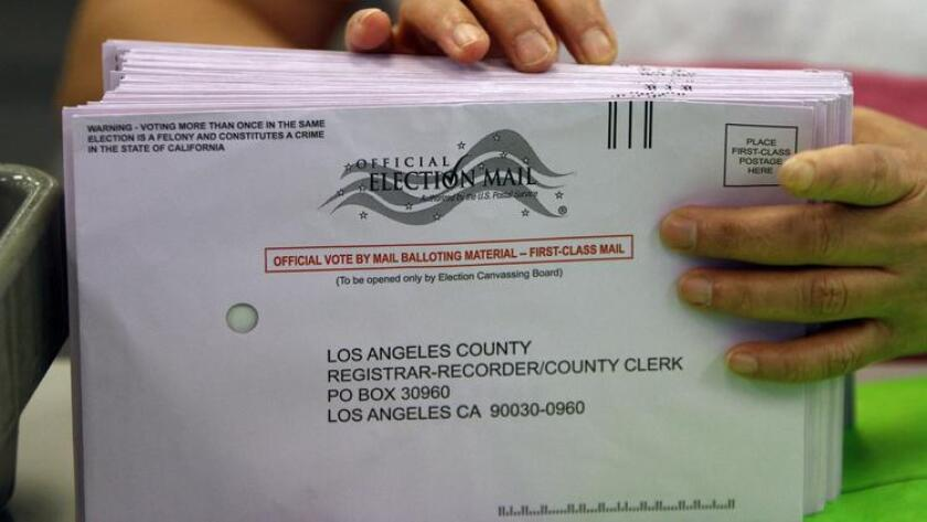 Voting by mail has exploded in California. In 2020, over 15 million voters in the state will receive ballots in the mail.