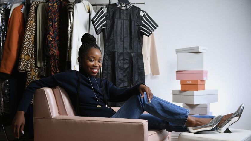 "Ayanna James, costume designer for HBO's ""Insecure,"" talks about her fashion inspirations for the hit comedy series and where she shops for Issa Rae, Yvonne Orji and the show's other cast members."