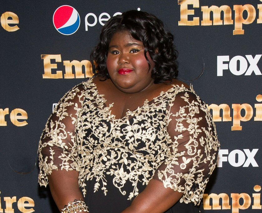 "FILE - In this Sept. 12, 2015 file photo, Gabourey Sidibe attends the ""Empire"" season two premiere in New York. The second season of ""Empire,"" starring Sidibe, premieres on Wednesday, Sept. 23. (Photo by Charles Sykes/Invision/AP, File)"