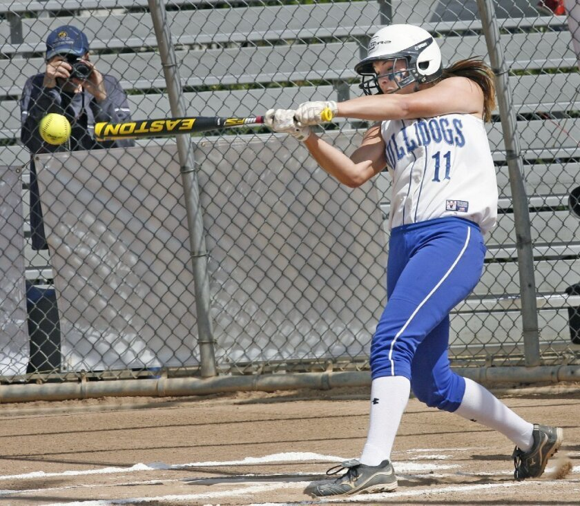 Bulldogs lose 'tough one' in softball playoffs