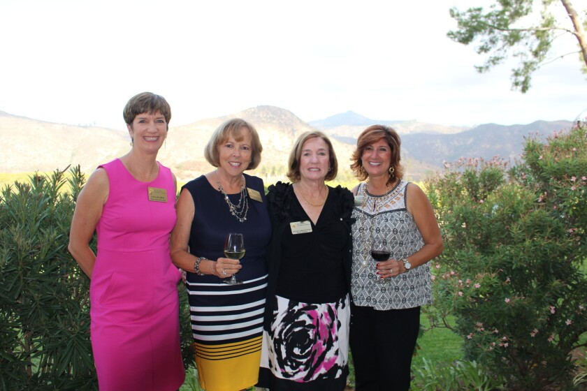 Escondido Charitable Foundation board members Lisa Ruder, Rita Bowcock, Susan Greenstein and Donna Aeling.