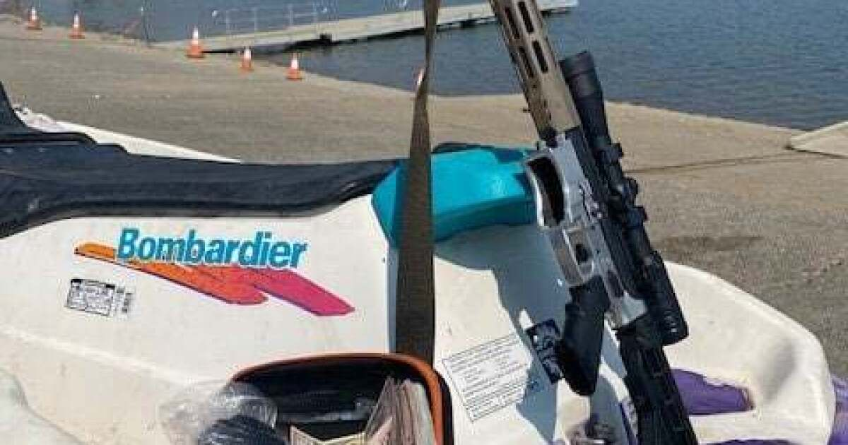 A water scooter, an AR-15 rifle and a bag of heroin: Two arrested at Napa County lake