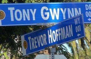 "San Diego street named ""Trevor Hoffman Way"""