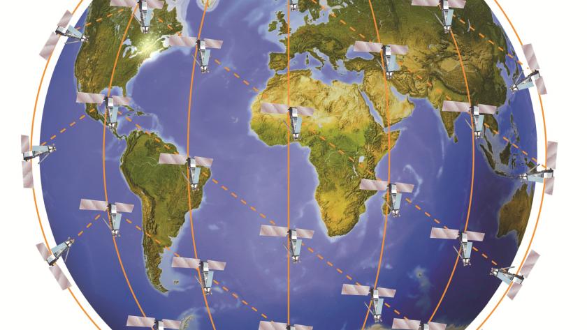 Iridium satellites provide global mobile phone coverage using the 'Eccentric Orbits' of John Bloom's book