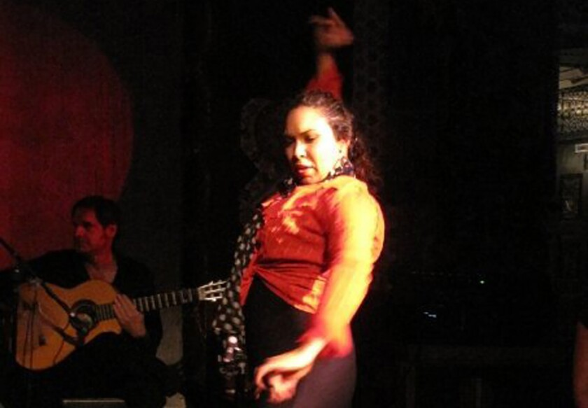"""Vanessa Abalos is among the featured dancers for a new edition of the monthly series """"Forever Flamenco"""" at the Fountain Theatre."""
