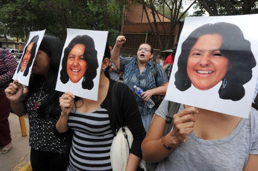 Honduras activist Berta Caceres slain