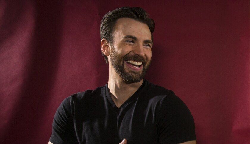 """Captain America"" actor Chris Evans."