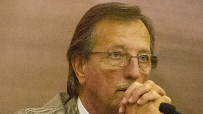 December 12, 2012_Escondido, California_USA_  Escondido City Councilman Ed Gallo. _Mandatory Photo C
