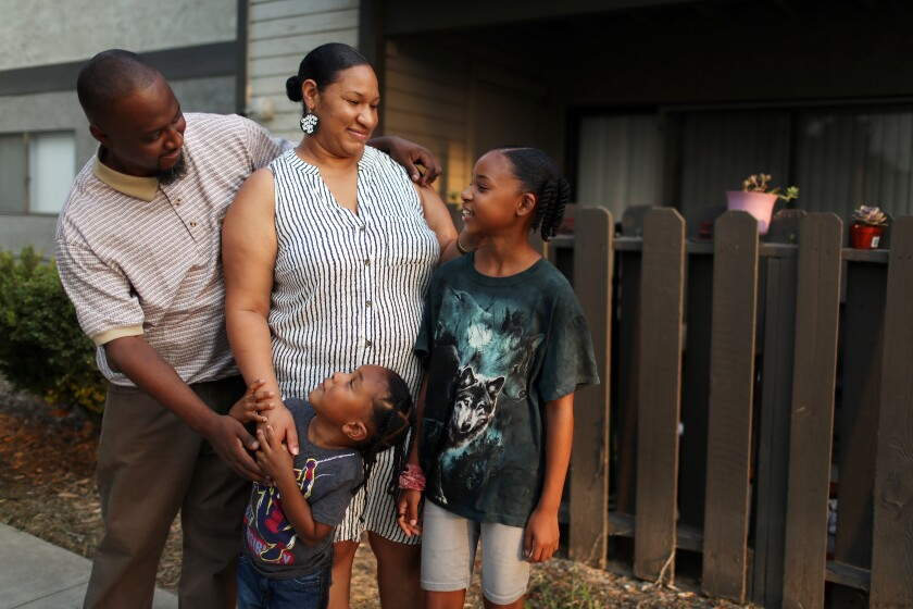 Terrance Stewart and family live in Colton.