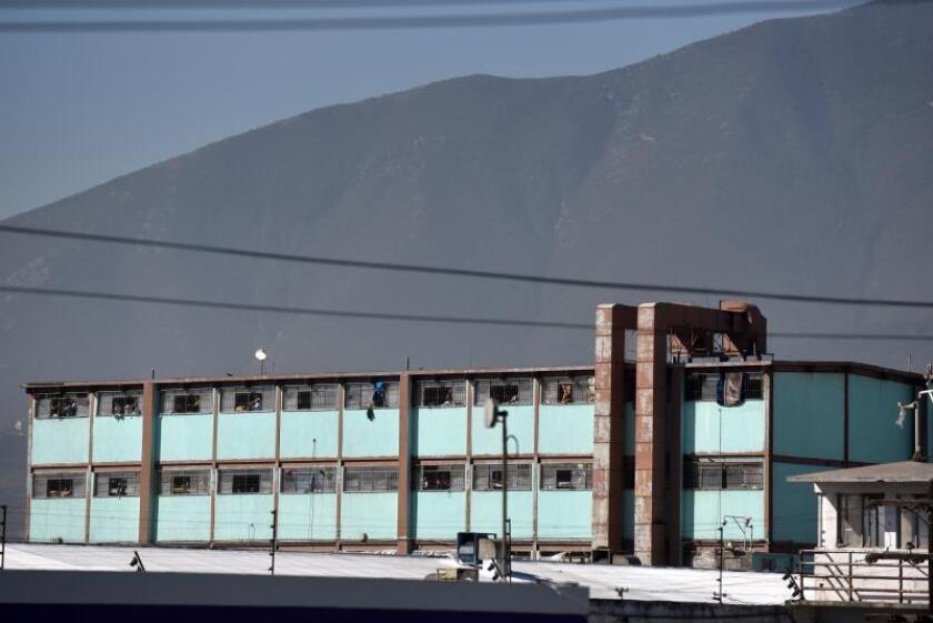 Fotografía de archivo del 11 de febrero de 2016, de una vista general del penal del Topo Chico, en la ciudad de Monterrey, en el estado de Nuevo León (México). EFE/Miguel Sierra
