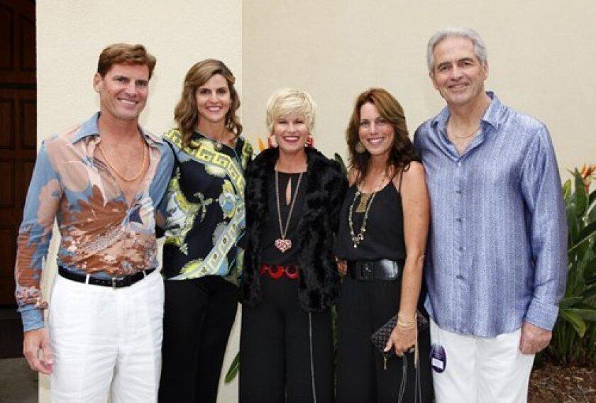 Dave Odmark, Melissa Swanson, Joy Ankeny, Karen Odmark and Grodon Swanson.