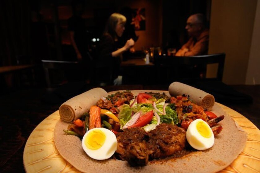 Muzita Bistro Authentic Abyssinian Cuisine brings the food of East Africa to University Heights.