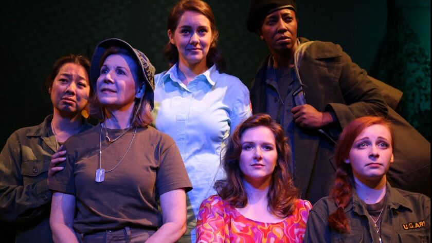 Review: On Theater: A compelling story of of women in war at