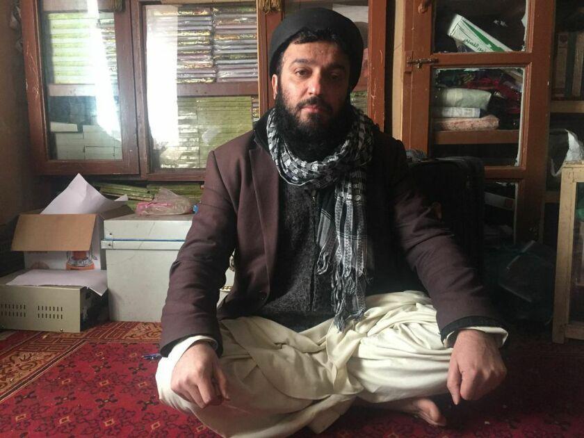Abdullah Habdi, a Sufi in Kabul, Afghanistan