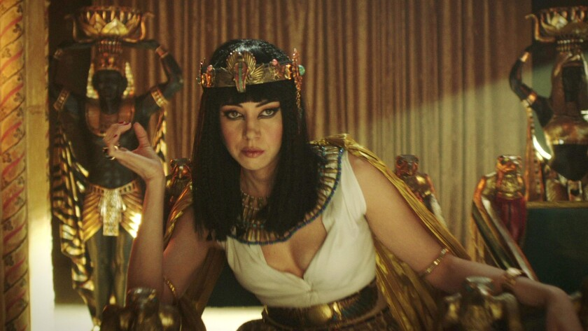 "Aubrey Plaza as Cleopatra in ""Drunk History"""