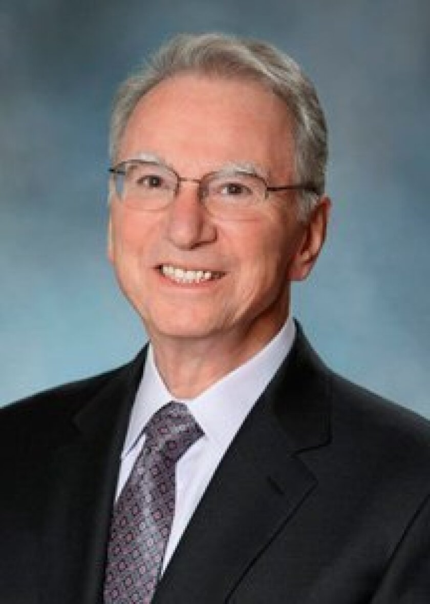 Irwin Jacobs will host a May 8 Democrat Party fundraiser at his La Jolla estate.