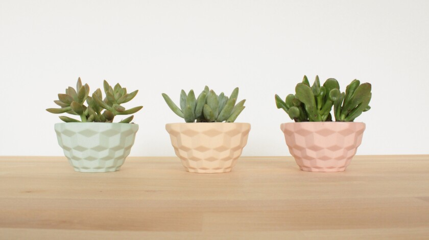 Powdery pastel pottery with a vintage-inspired vibe ($18 - $65) designed by Heather McCalla at San D