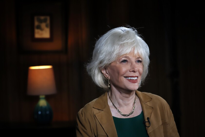 "Lesley Stahl on ""60 Minutes."""