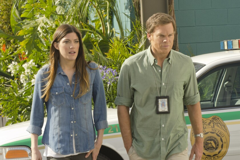 "Jennifer Carpenter and Michael C. Hall are in their final season of ""Dexter."" But the Showtime series could get a spinoff."
