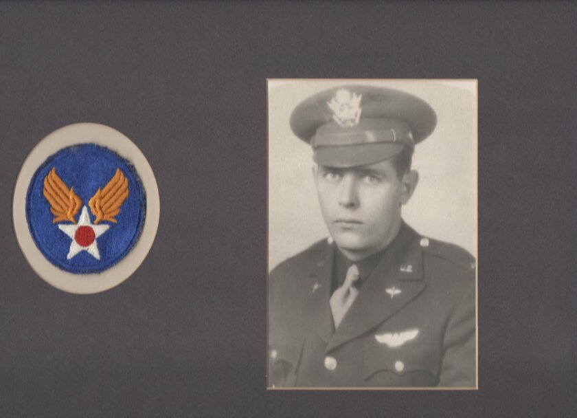 """This image provided by Sandi Jones shows 1st Lt. William """"Laddie"""" Bernier, whose remains have been identified and will be returned to family members 70 years after his B-24 bomber was shot down over Papua New Guinea during World War II. Bernier was the bombardier, stationed in a glass cockpit in th"""