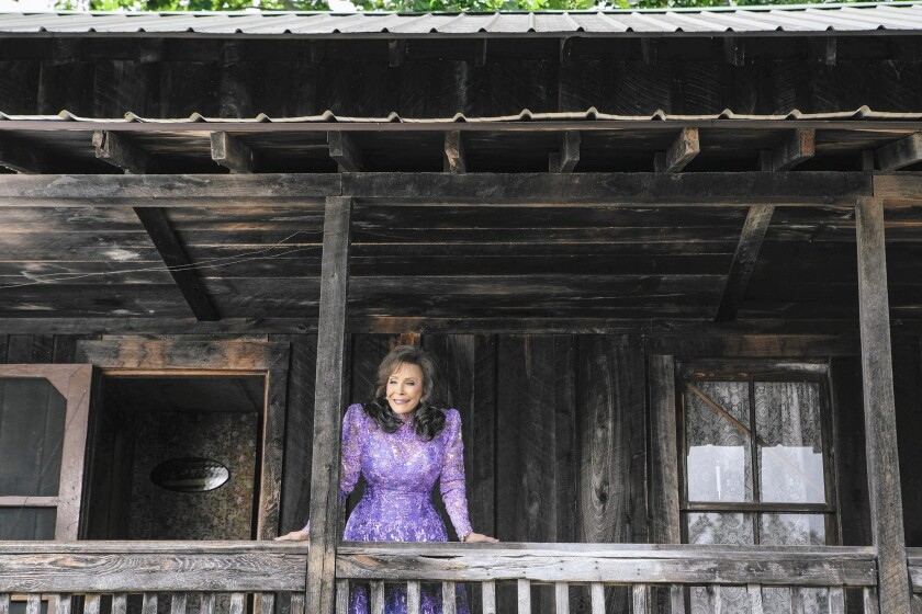 Yes, Loretta Lynn is 83, but she has a new album, 'Full Circle,' and no plans to retire