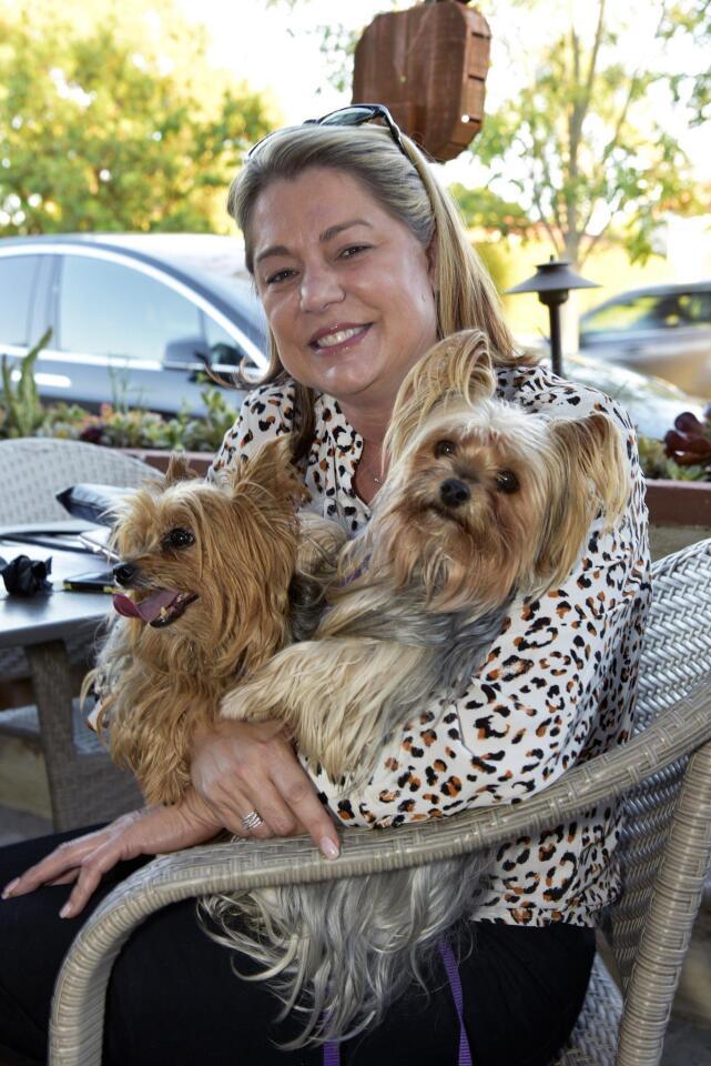 Rachel Collins Friedman with Sophia and Layla