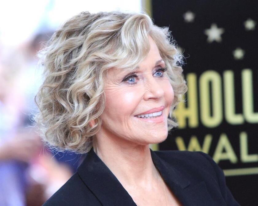 La actriz estadounidense Jane Fonda. EFE/Archivo