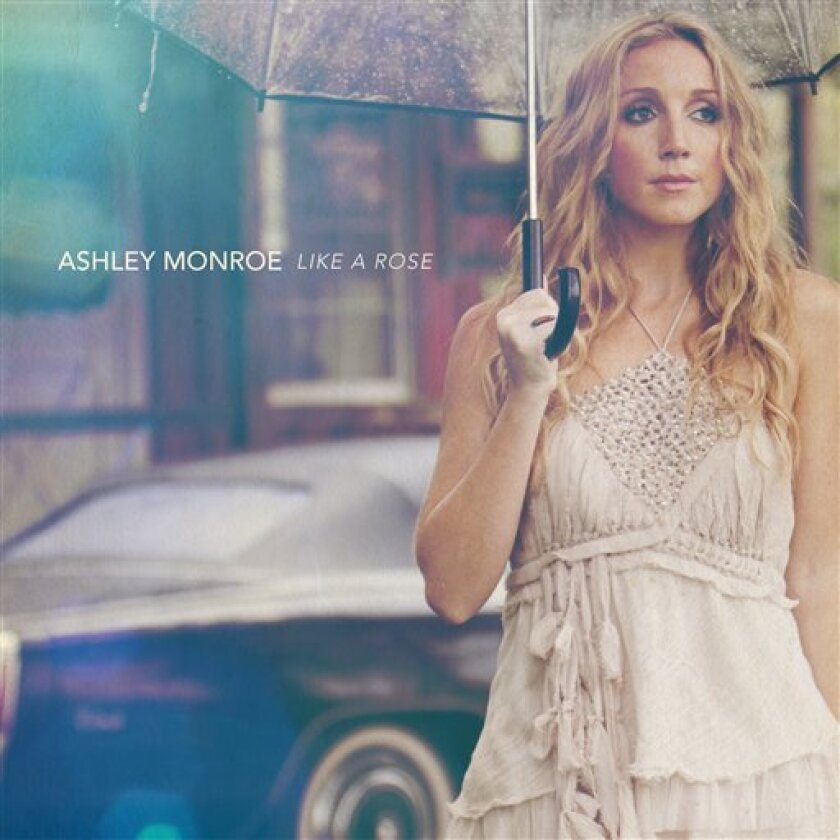 """This CD cover image released by Warner Bros. Records shows """"Like a Rose,"""" by Ashley Monroe. (AP Photo/Warner Bros. Records)"""