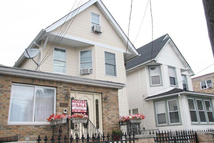 La venta de casas nuevas subió un 6,7 % en mayo, el incremento más alto de los últimos seis meses, informó hoy el Departamento de Comercio. EFE/Archivo