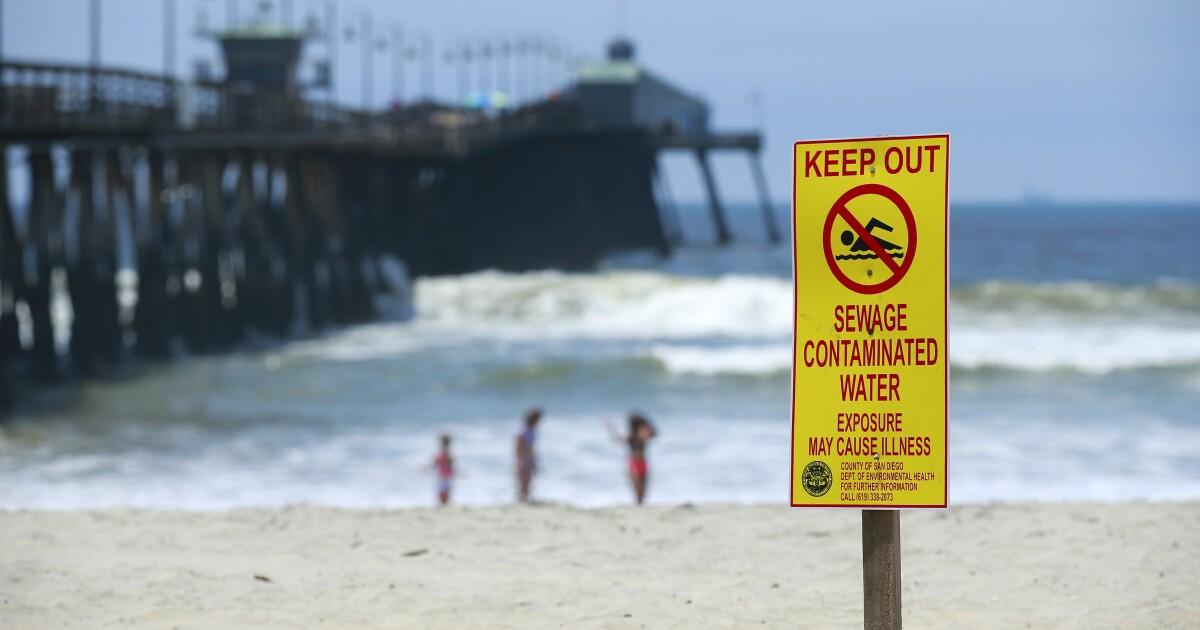 $300 juta pada dana federal akan membantu membangun San Diego fasilitas untuk mencegat beracun Tijuana tumpahan