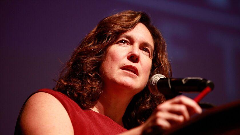 San Diego Unified School District Superintendent Cindy Marten