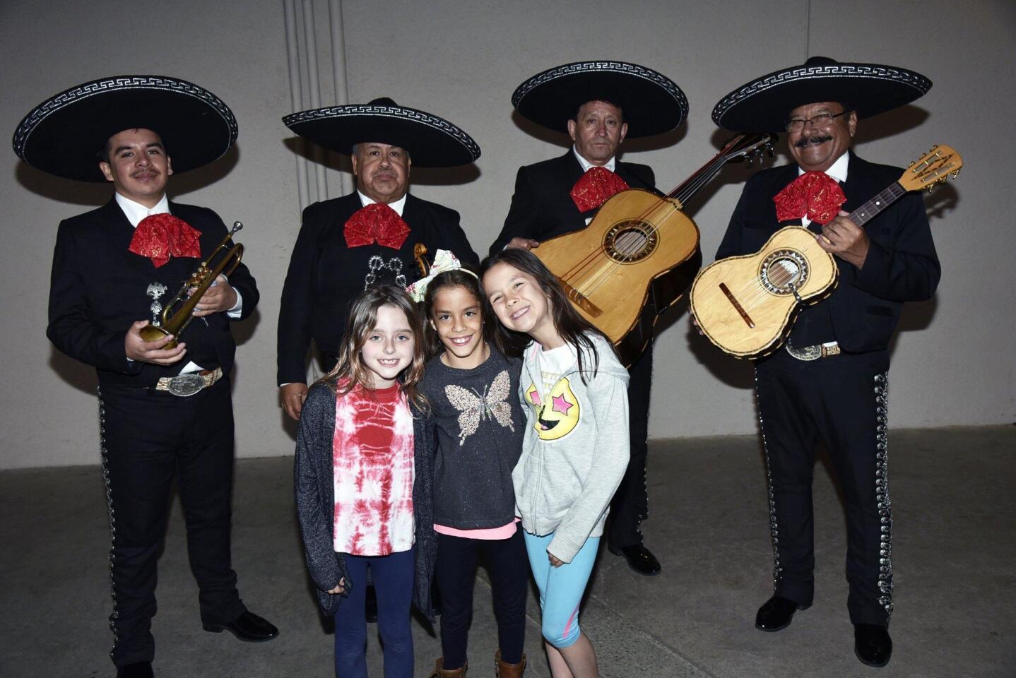 Mariachi Real de San Diego with Harper, Martina and Vivian