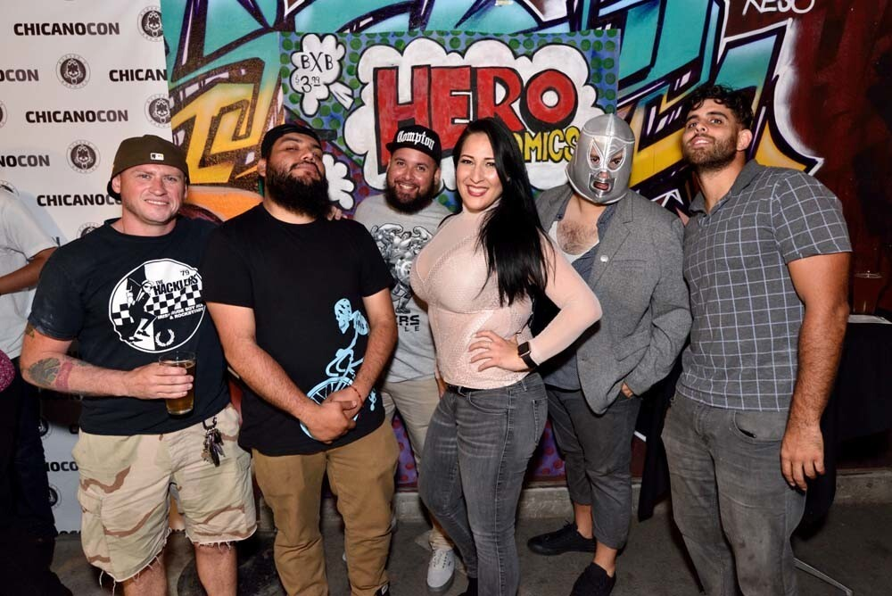Attendees at the fourth annual Chicano-Con celebrated Latino voices in popular culture at Border X Brewing in Barrio Logan on Friday, July 20, 2018.