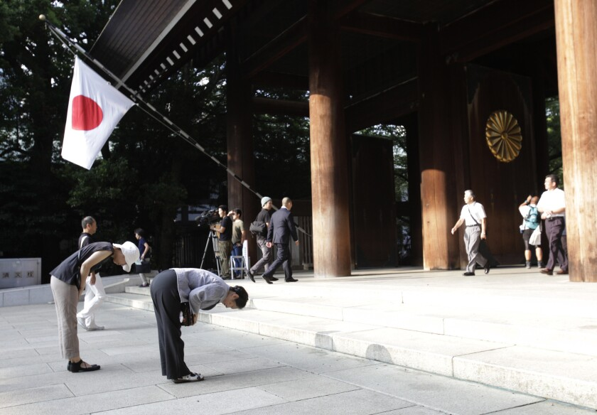 Japan China troubled history