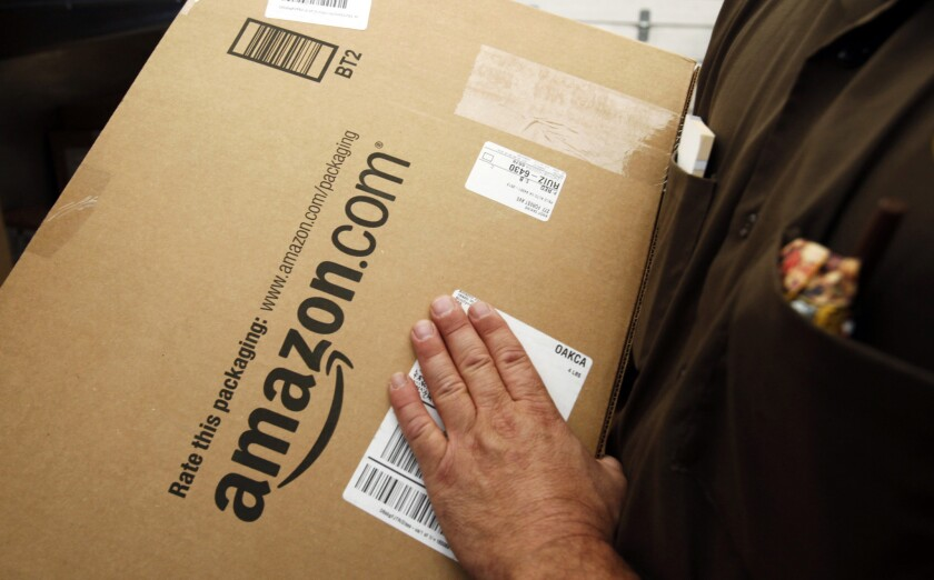 A new complaint says Amazon forces costly shipping services on sellers