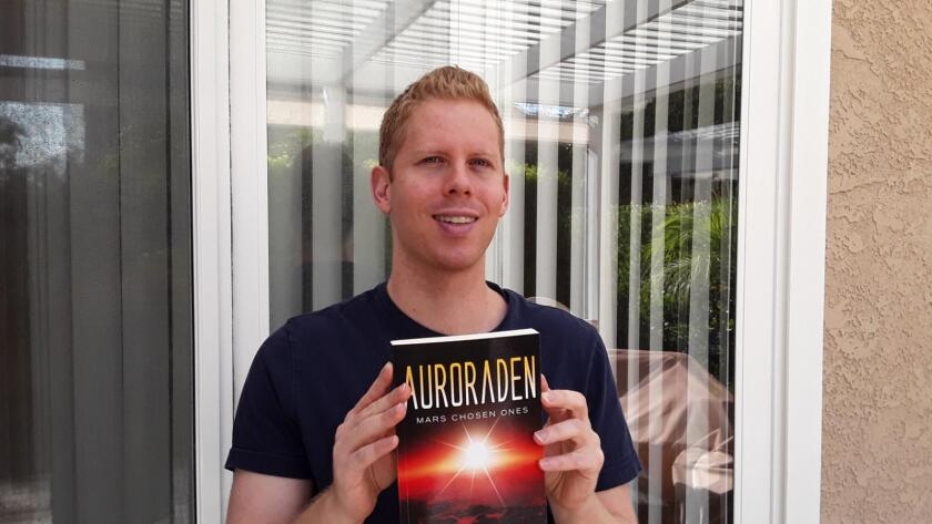 "Andrew Armao, a graduate of Canyon Crest Academy and Cal Poly Pomona, self-published his debut novel, ""Auroraden."""