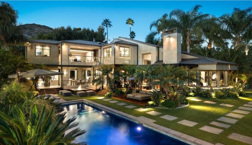 Anthony Zuiker's Malibu estate