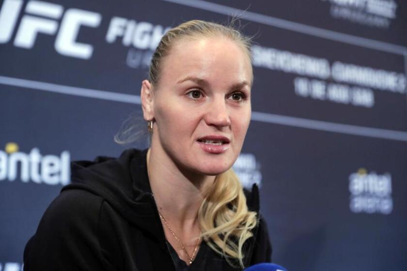 Peleadora Shevchenko ultima detalles para defender su cinturón UFC en Uruguay