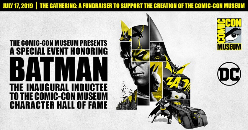 Flyer for Comic-Con Museum event.