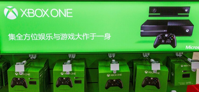Microsoft's Xbox One console went on sale in China this week. Before the console's U.S. release, hackers stole specs and other information about it, a federal indictment alleges.