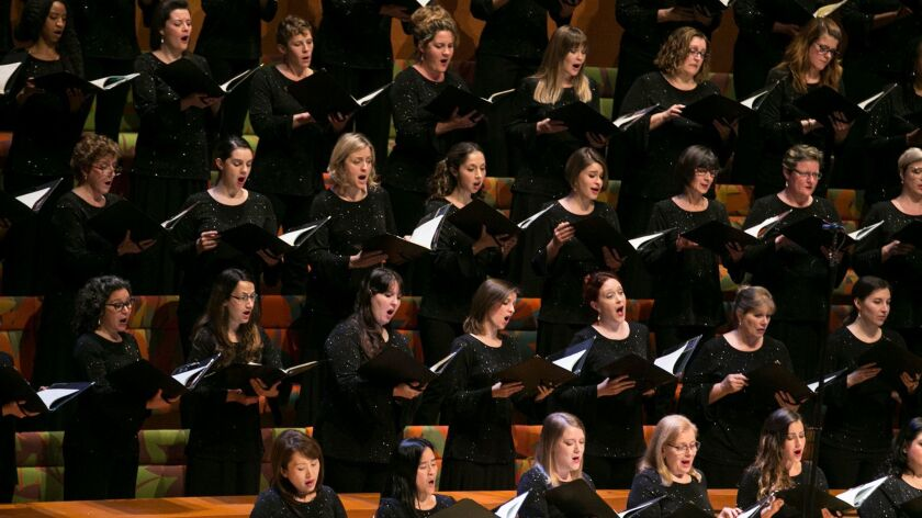Los Angeles Master Chorale will perform Handel's Messiah at Walt Disney Concert Hall on Saturday.