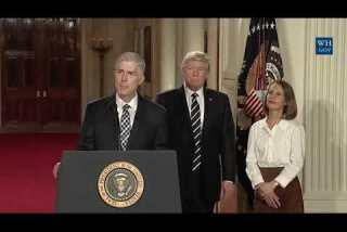 Trump nominates Neil Gorsuch for Supreme Court