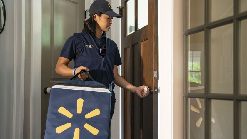 Walmart to begin direct to your fridge grocery delivery this fall