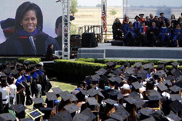 Michelle Obama at UC Merced