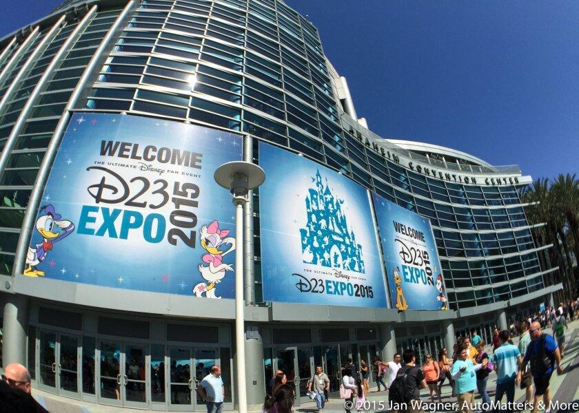D23 EXPO — Anaheim Convention Center