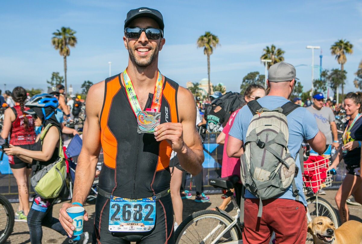 The sun was shining for the Xterra Wetsuits Spring Sprint Triathlon, Duathlon & Aquabike in Mission Bay on Sunday, May 6, 2018.